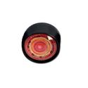 Grinder Glass Dome - Black Leaf - Design 6