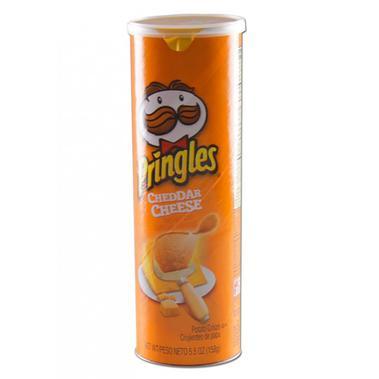 Stash Can Pringles Cheddar