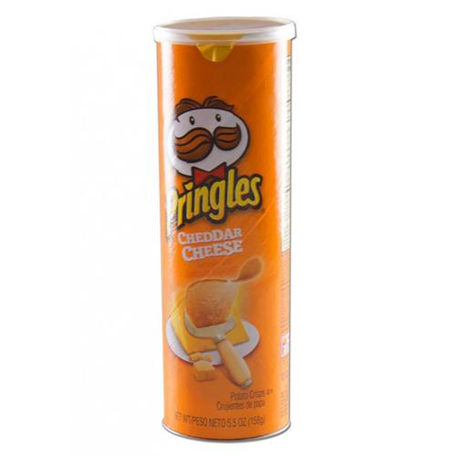 Stash Can Pringles Cheddar - 190 ml