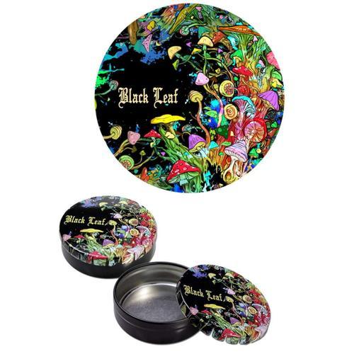 Box Mushroom - Black Leaf