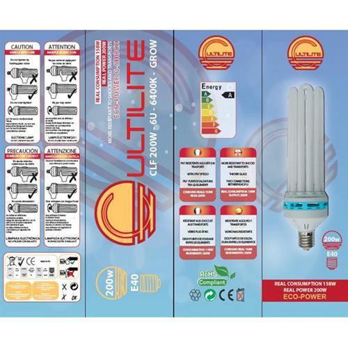 Lampada Cultilite G-Shock CFL - 200 W