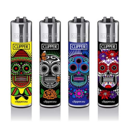 """Clipper """"Mexican Skulls#5"""" - Mexican Skulls Collezione"""
