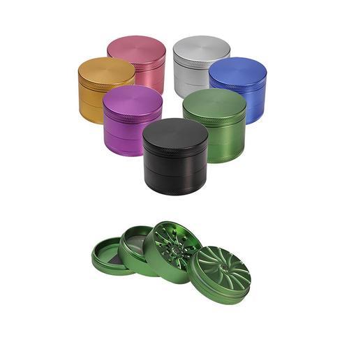Grinder Masher 4 parti • Alluminio - Verde