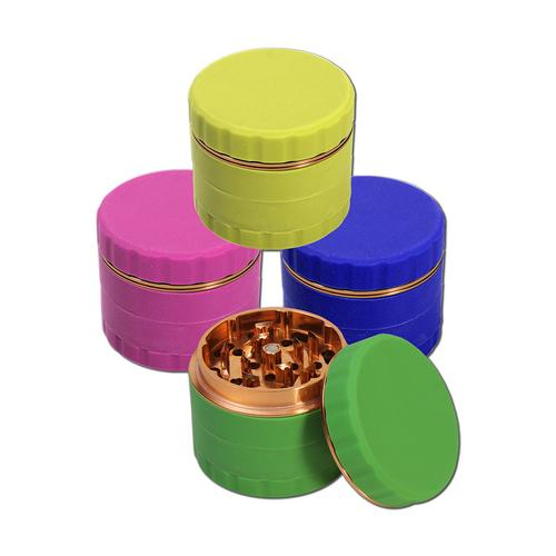 GRINDER 4 PARTI IN SILICONE - ROSA