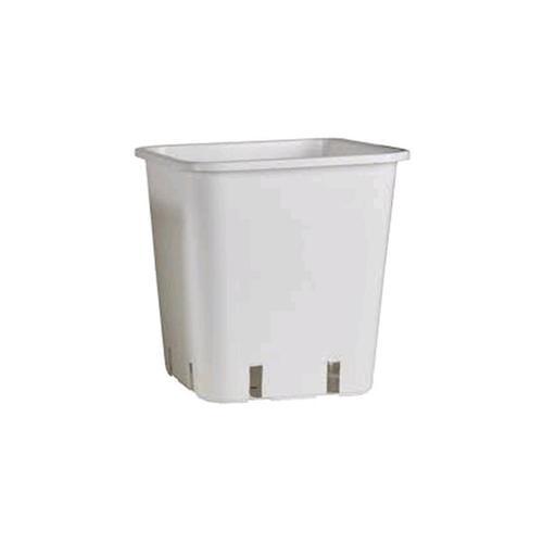 Vaso Plastica 11lt - Bianco