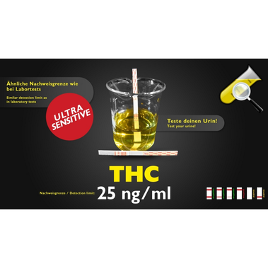 Test Antidroga - THC - Ultrasensibile