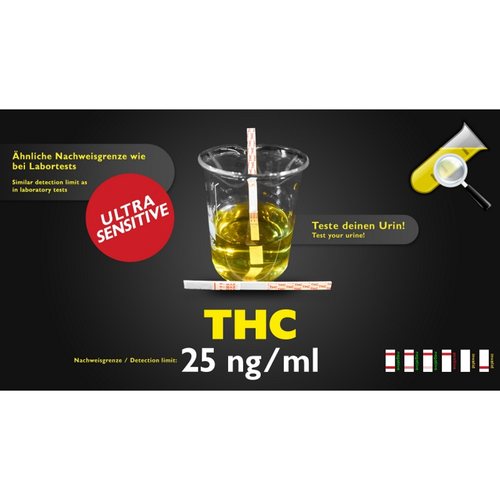 Test Antidroga - THC - Ultrasensibile - Clean U